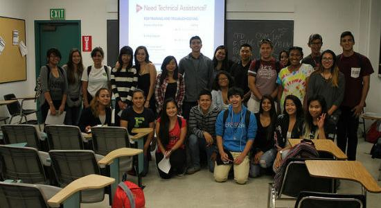 Photo of Gates to Success student members.