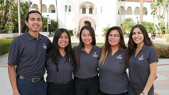 Gates to Success student executive officers